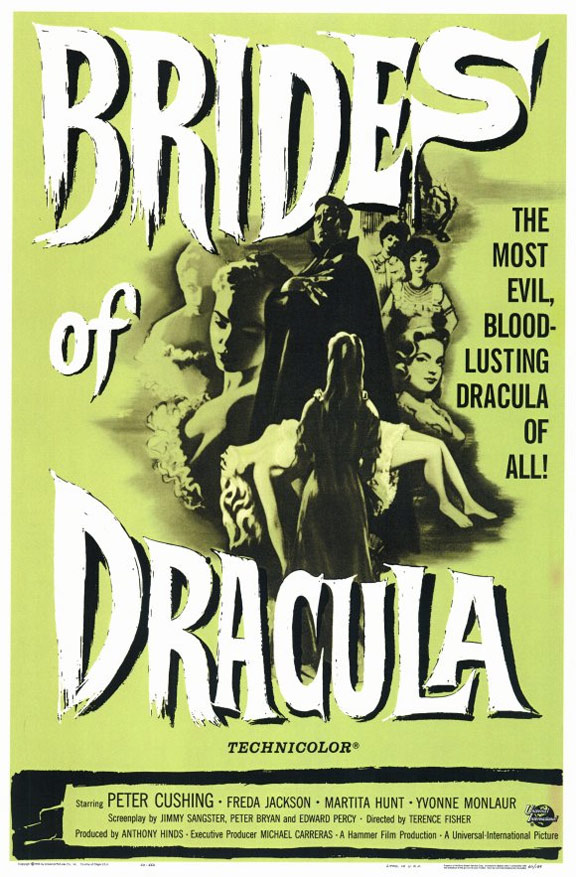 The Brides of Dracula Poster #1