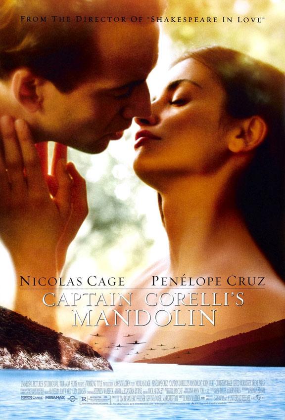 Captain Corelli's Mandolin Poster #1