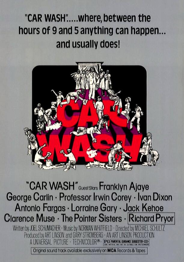Car Wash Poster #1