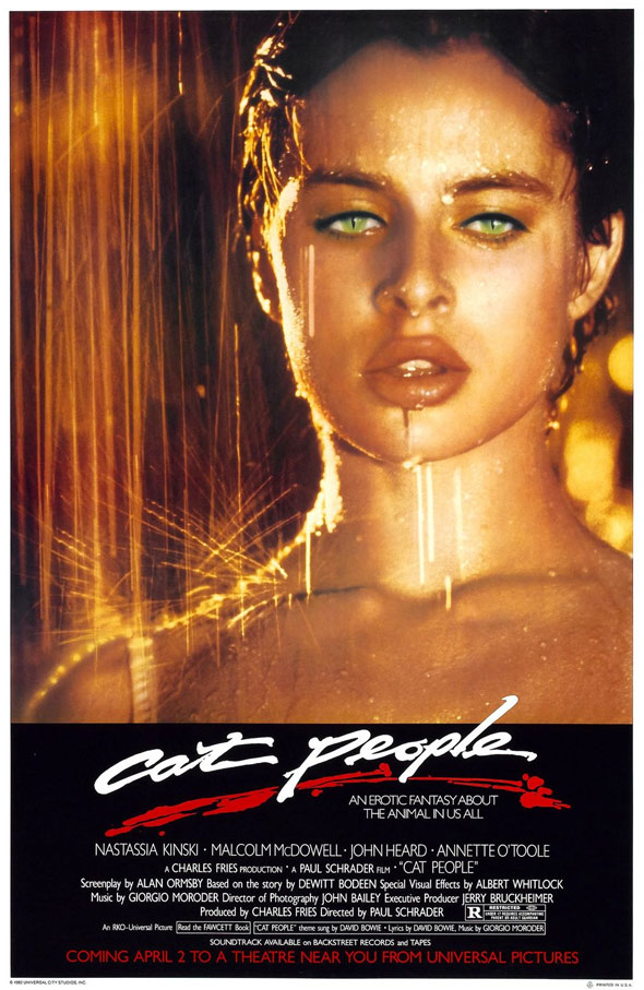 cat people 1982 poster 1 trailer addict