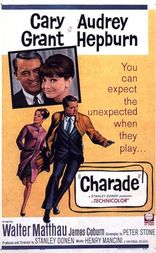 Charade Poster #1