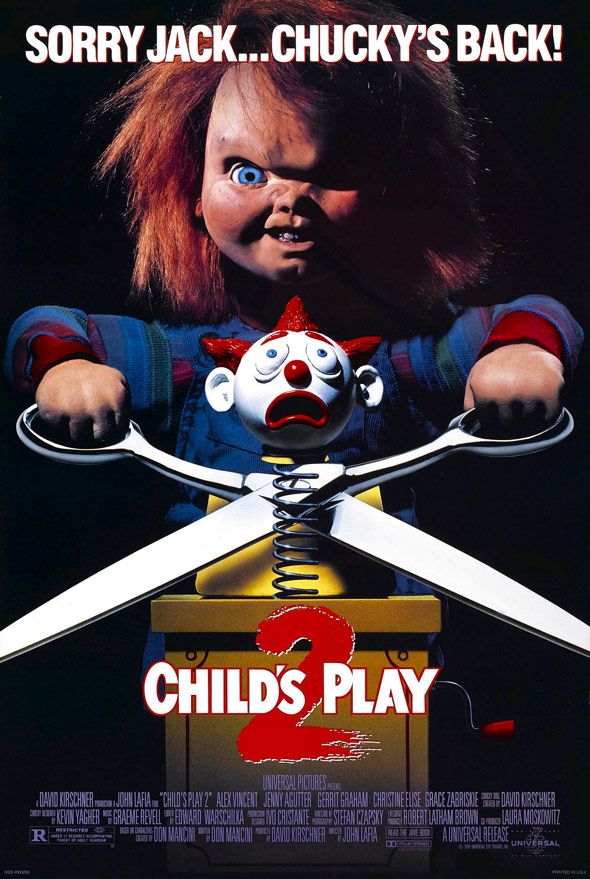 Child's Play 2 Poster #1