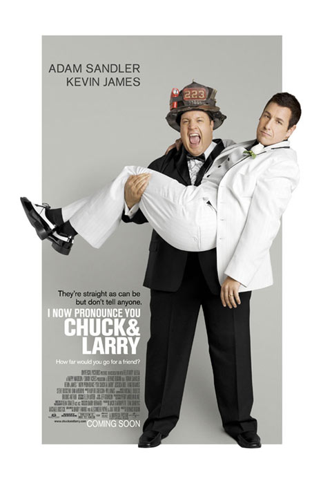 I Now Pronounce You Chuck and Larry Poster #1