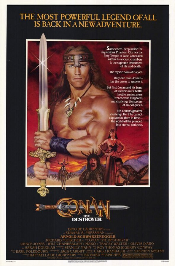 Conan the Destroyer Poster #1