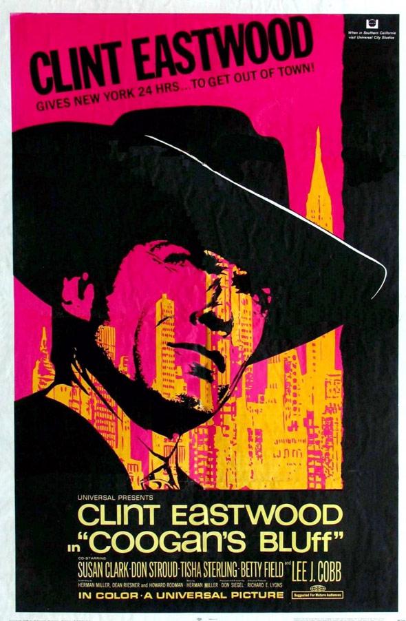 Coogan's Bluff Poster #1