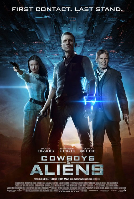 Cowboys & Aliens Poster #3