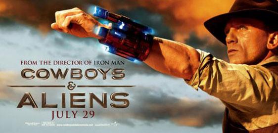 Cowboys & Aliens Poster #6