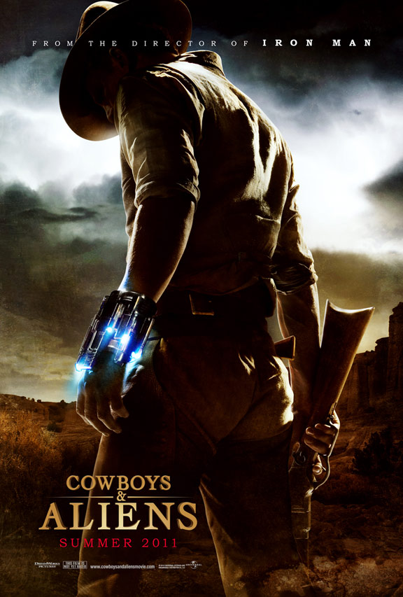Cowboys & Aliens Poster #1