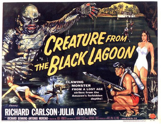 Creature from the Black Lagoon Poster #3