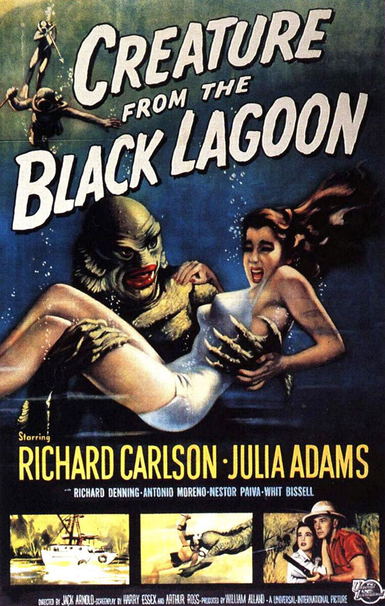 Creature from the Black Lagoon Poster #1