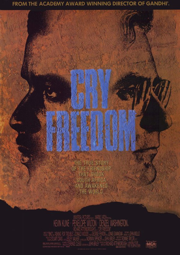 Cry Freedom Poster #1