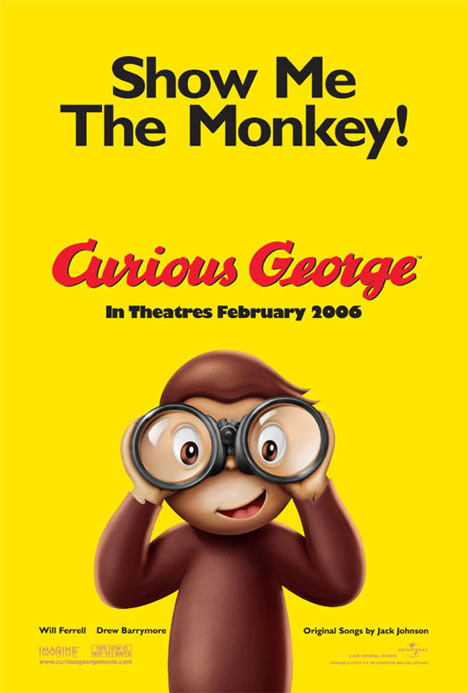 Curious George Poster #1