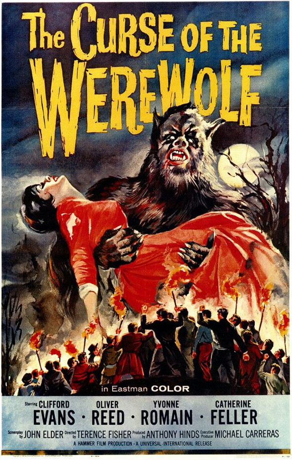 The Curse of the Werewolf Poster #1