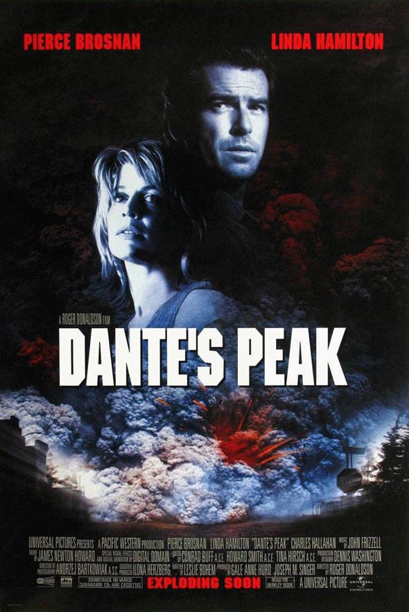 Dante's Peak Poster #1