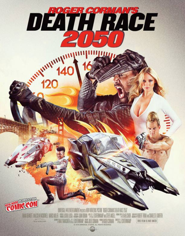 Death Race 2050 Poster #1