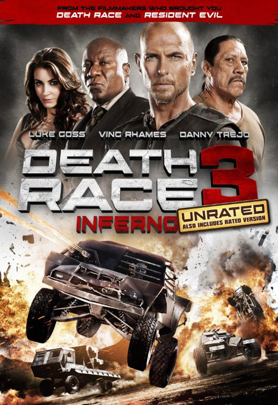 Death Race: Inferno Poster #1