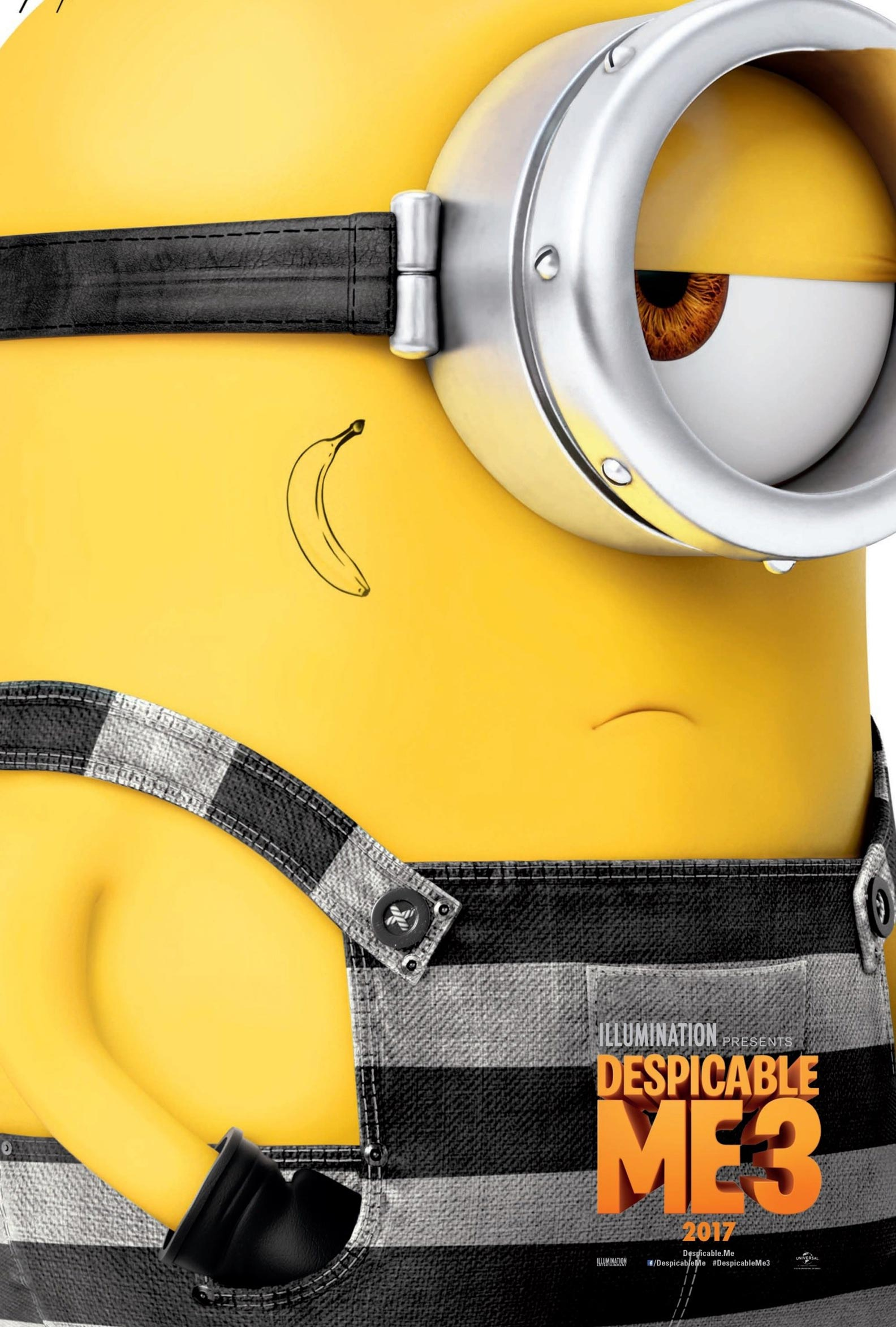 Despicable Me 3 (2017) Poster #1 - Trailer Addict