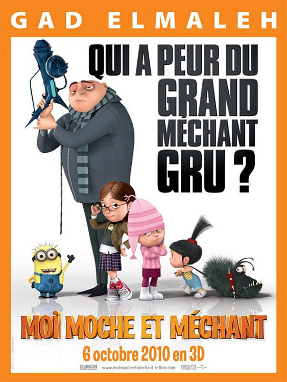 Despicable Me Poster #12