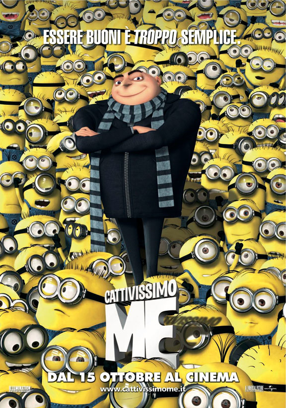 Despicable Me Poster #3