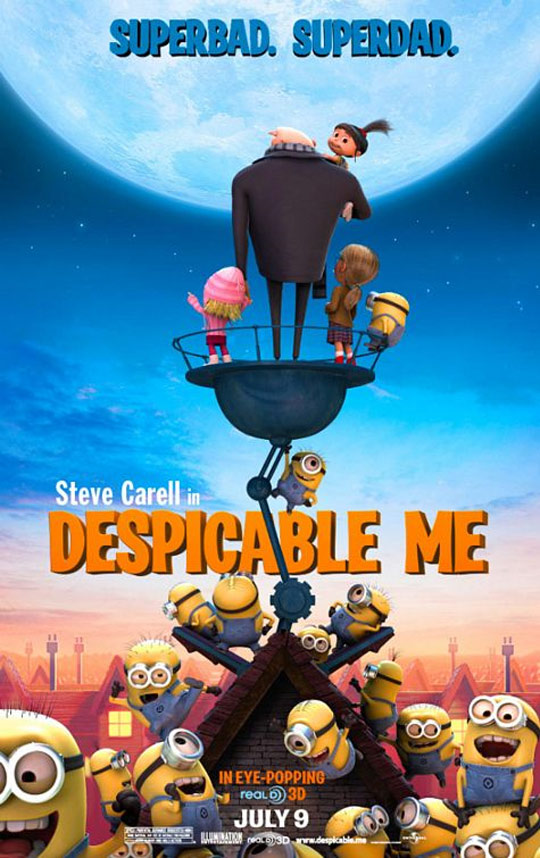 Despicable Me Poster #4