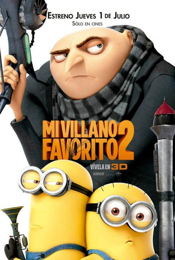 Despicable Me 2 Poster #19