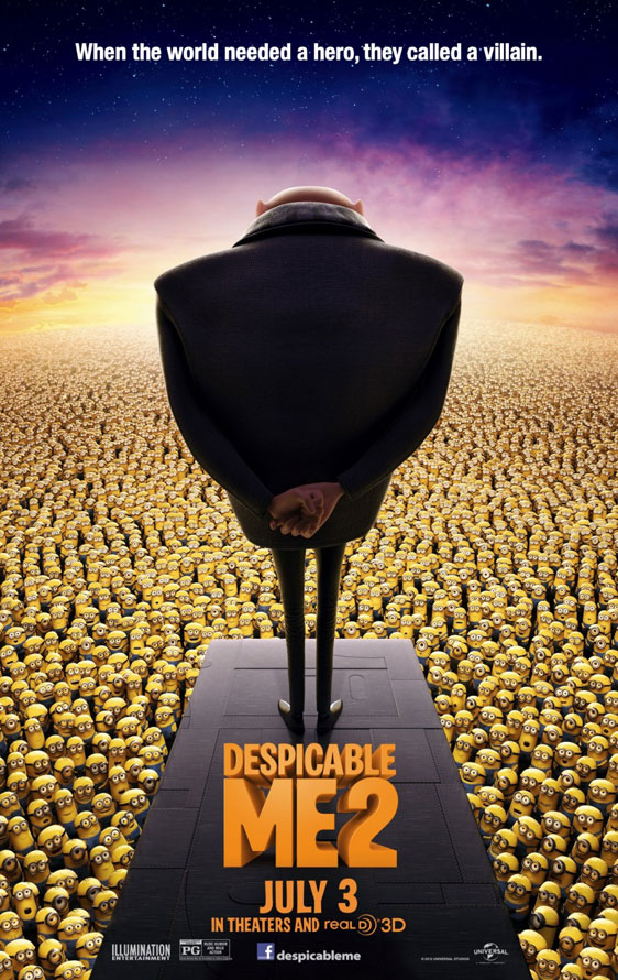 Despicable Me 2 Poster #7