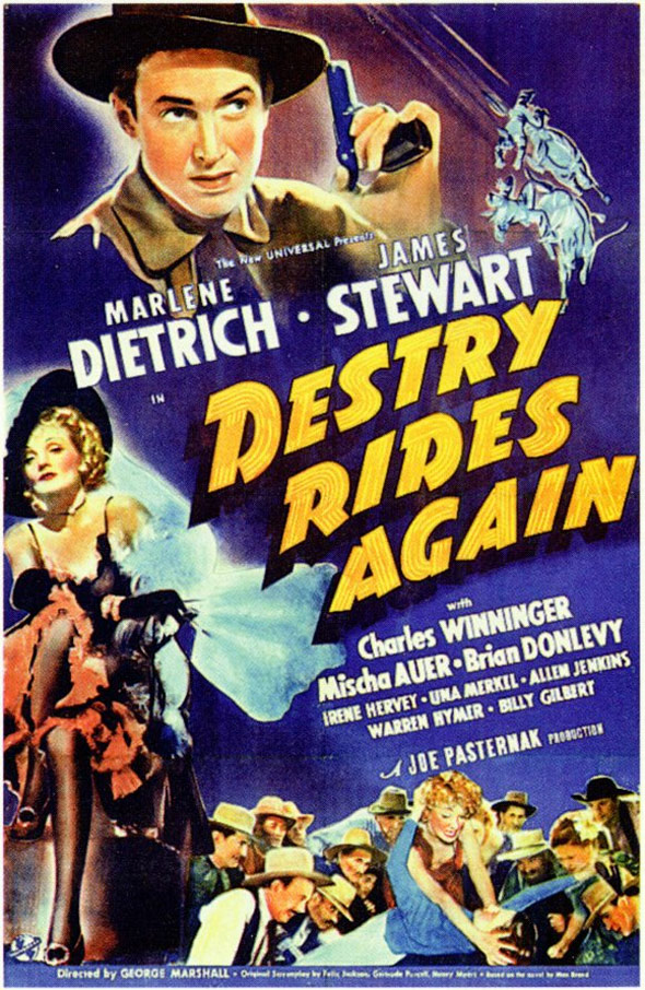 Destry Rides Again Poster #1