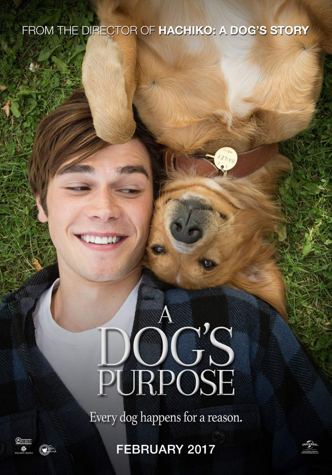 A Dog S Purpose 2017 Poster 12 Trailer Addict