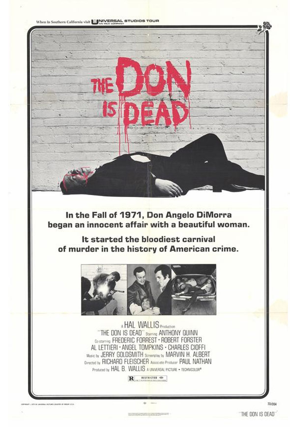 The Don is Dead Poster #1