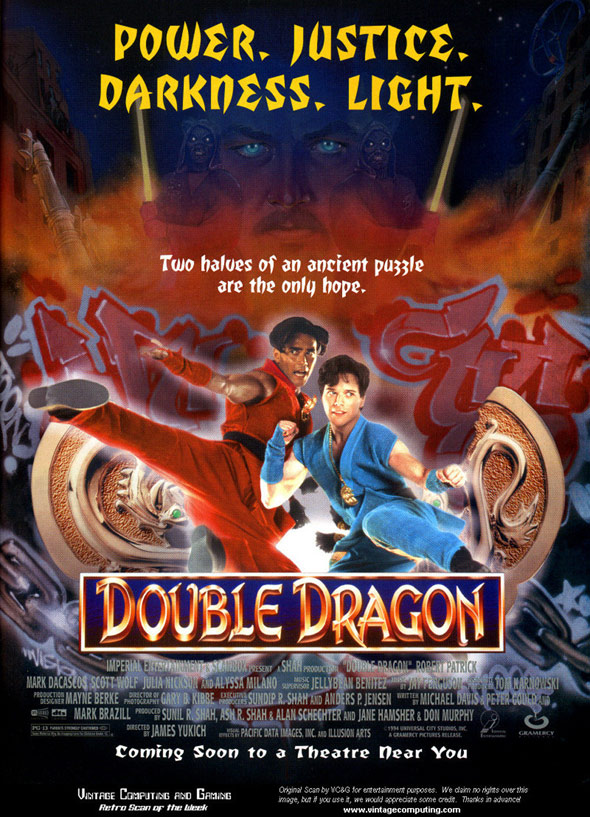 Double Dragon Poster #1