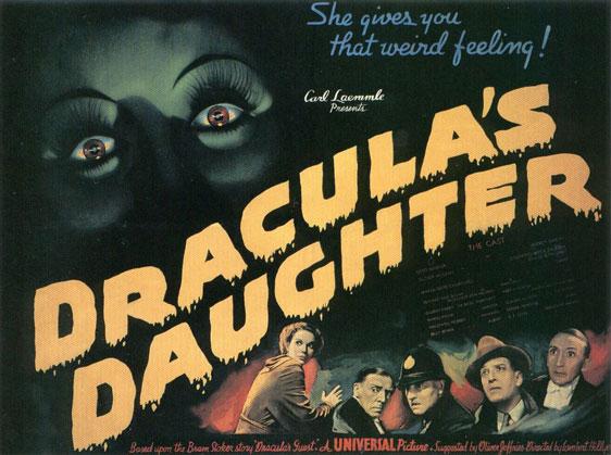 Dracula's Daughter Poster #2