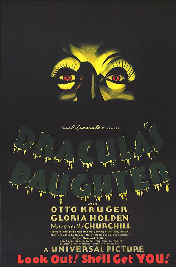 Dracula's Daughter Poster #1