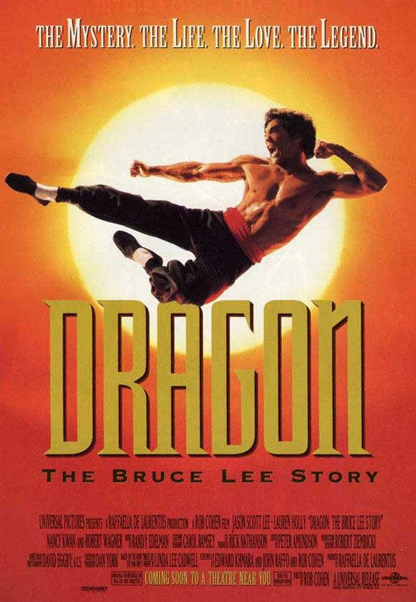 Dragon: The Bruce Lee Story Poster #1