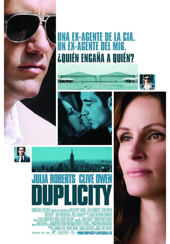 Duplicity Poster #2