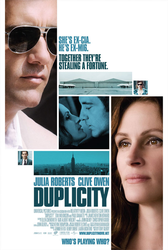 Duplicity Poster #3