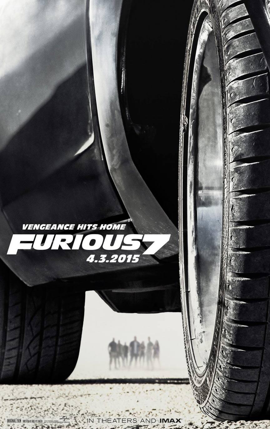 Furious 7 Poster #2