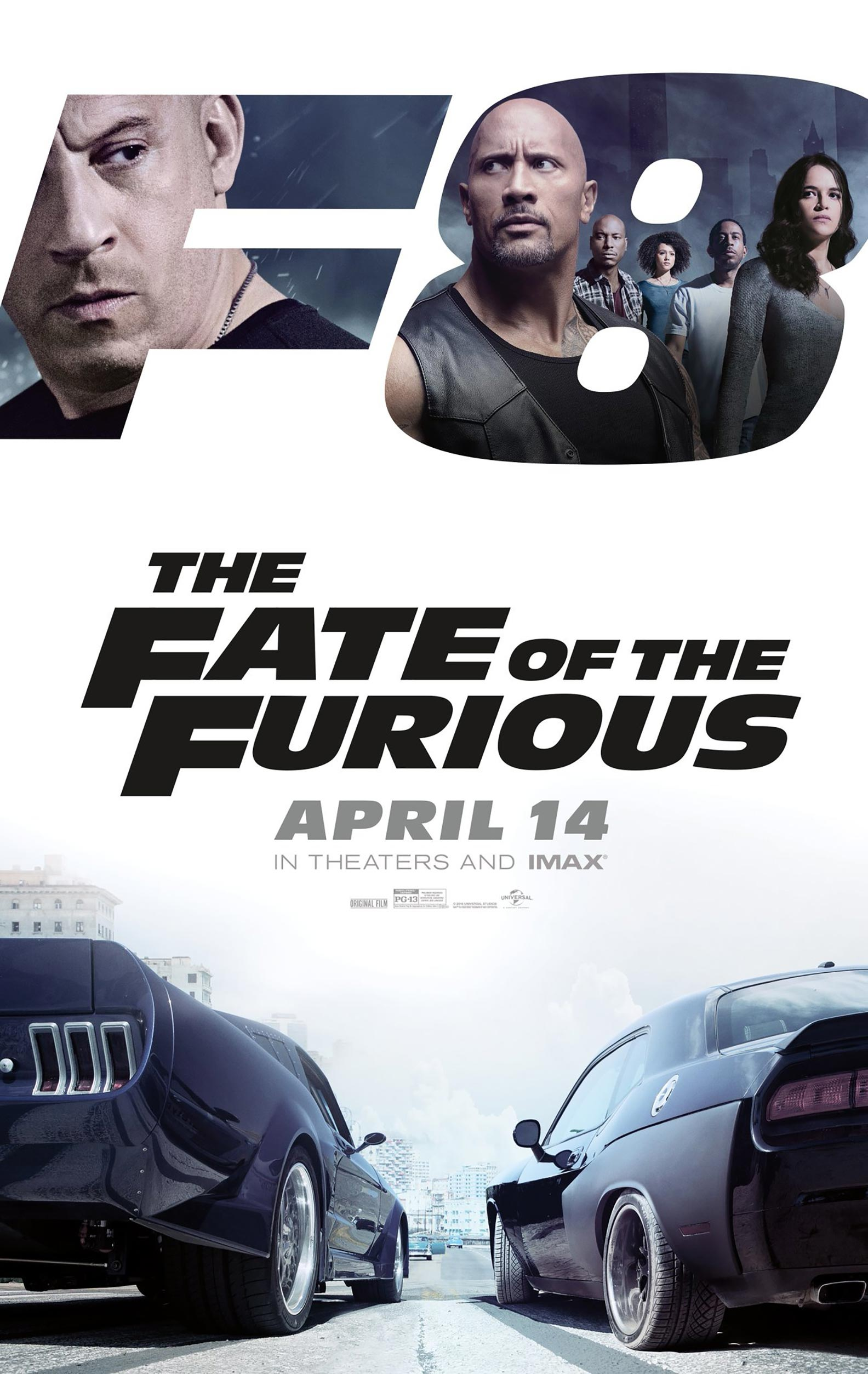 The Fate of the Furious Poster #3