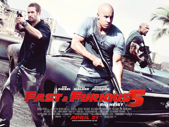 Fast Five Poster #4