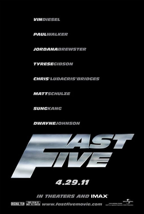 Fast Five Poster #1