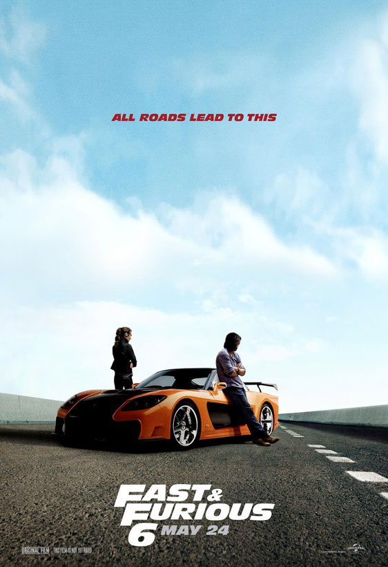 Fast Furious 6 2013 Poster 4 Trailer Addict