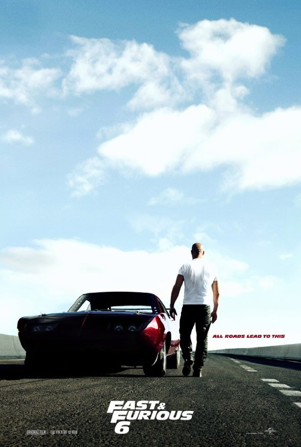 Fast & Furious 6 Poster #1