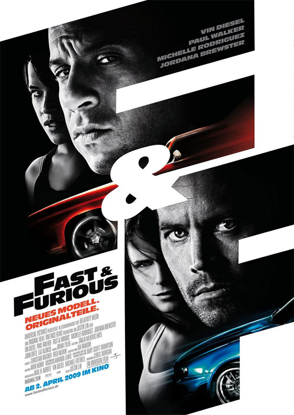 Fast & Furious Poster #3
