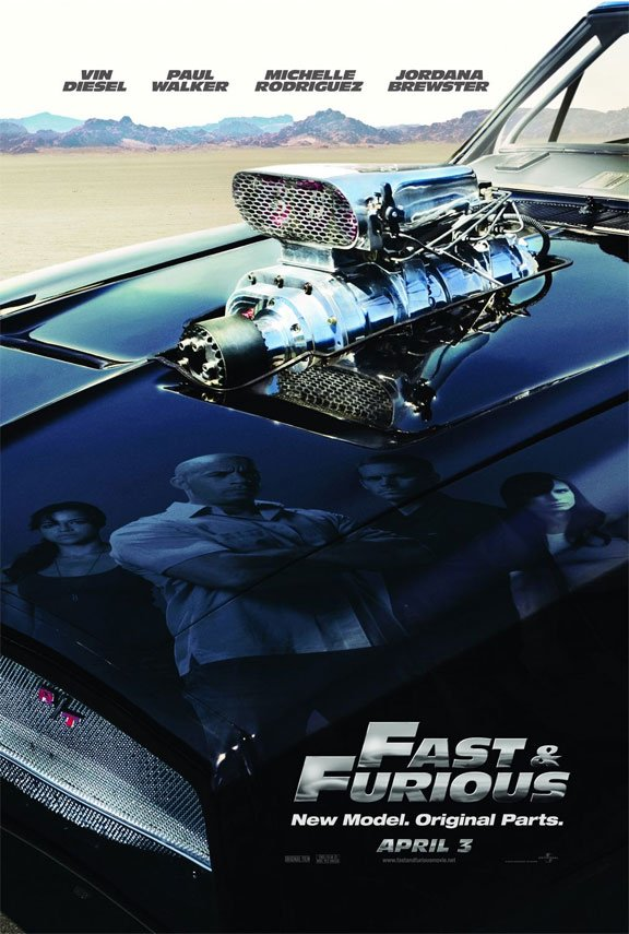 Fast & Furious Poster #1