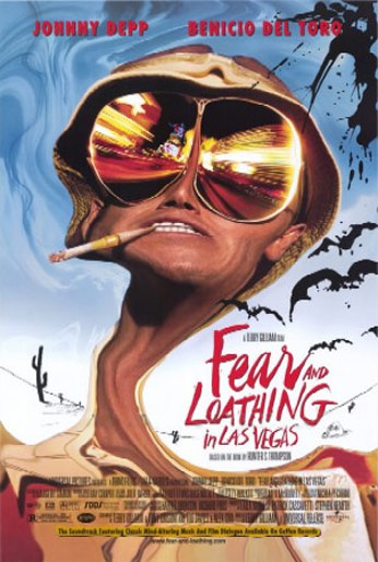 Fear and Loathing in Las Vegas (1998) Poster #1 - Trailer ...