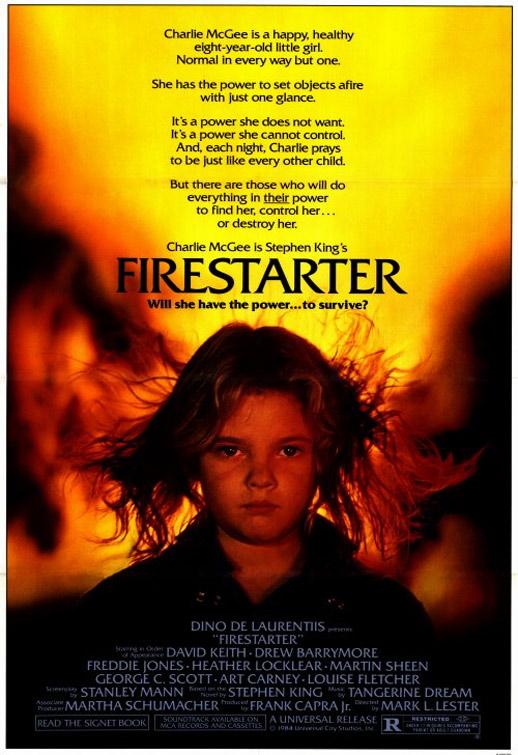 Firestarter Poster #1