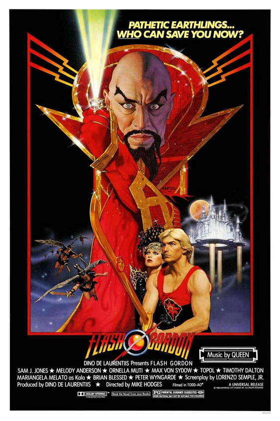 Flash Gordon Poster #1