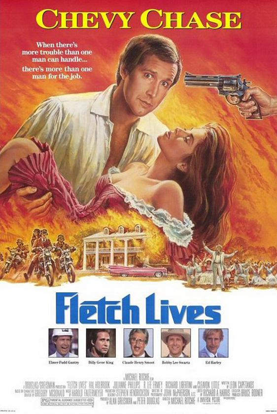 Fletch Lives Poster #1