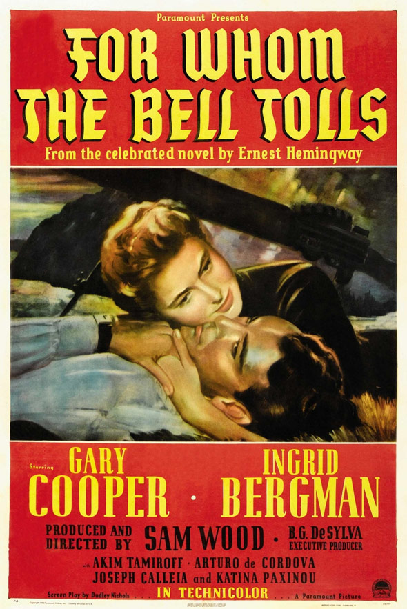 For Whom the Bell Tolls Poster #1