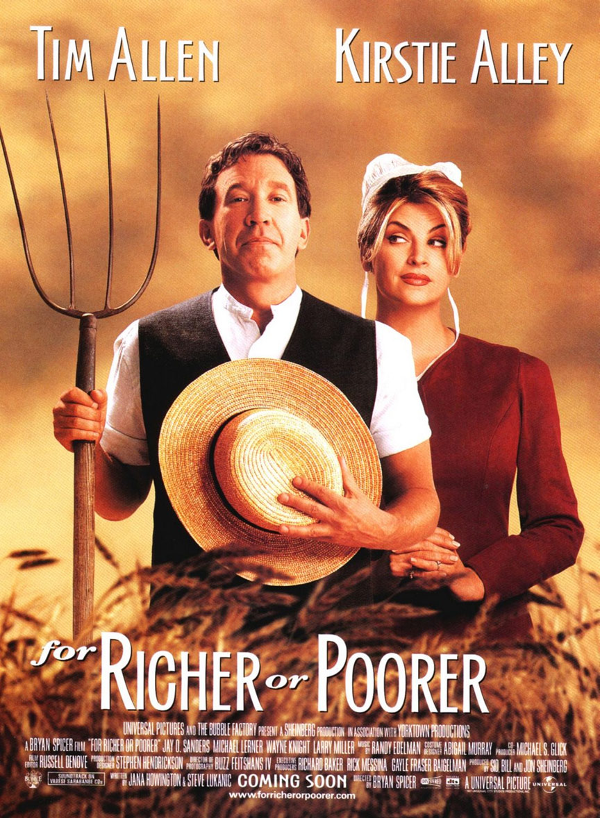 For Richer or Poorer Poster #1