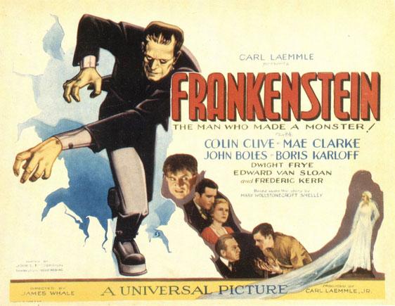 Frankenstein Poster #3
